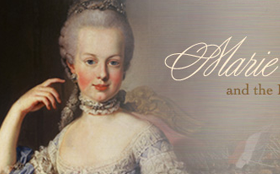 Artwork from Marie Antoinette website